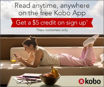 Get a $5 credit when you sign up for Kobo e-books
